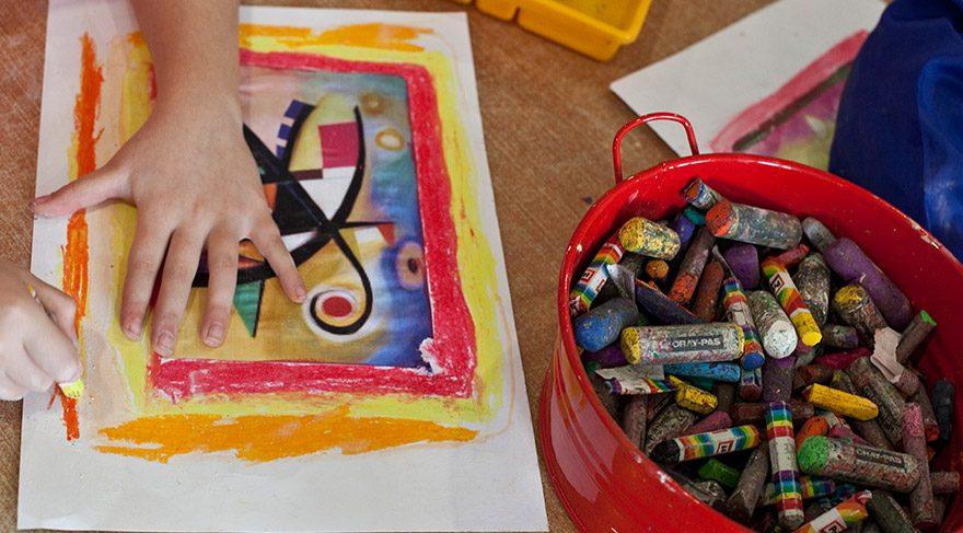 Çocuklarla sanata yolculuk başlıyor