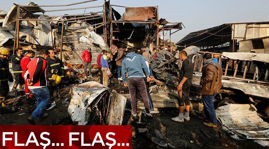 Irak'ta bombalı araçla saldırı! Çok sayıda ölü var