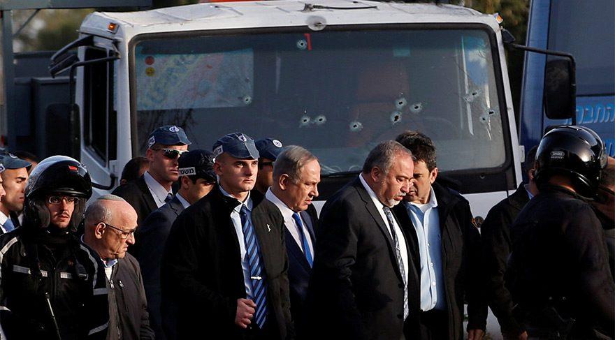 İsrail Başbakanı Netanyahu olay yerinde açıkladı!