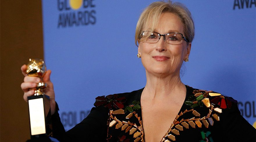 Meryl Streep'ten Trump'a zehir zemberek sözler