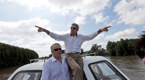 ABD Dışişleri Bakanı Kerry, Vietnam'da bir askeri öldürdüğü bölgeyi ziyaret etti