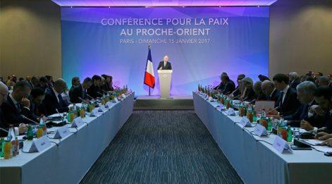 İsrail-Filistin sorunu: Fransa'da barış konferansı
