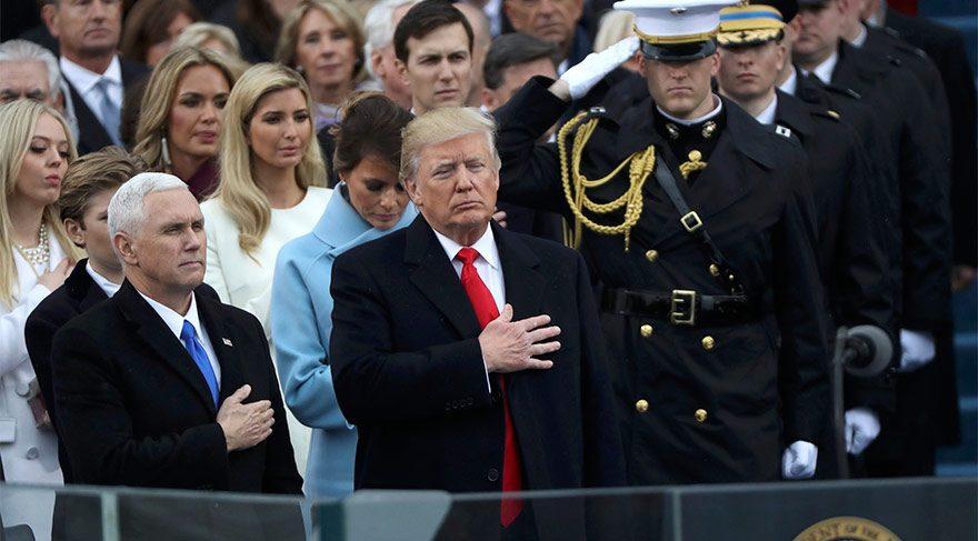 Ve Trump resmen ABD'nin 45'inci Başkanı!