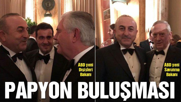 Çavuşoğlu ABD'nin yeni kabinesiyle tanıştı