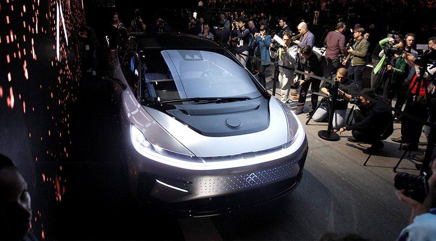 Faraday Future, geleceğin otomobilini görücüye çıkardı