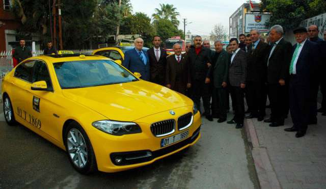 Adana da BMW taksi dönemi