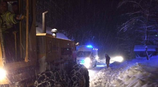 Ordu'da 12 ilçede okullar kar nedeniyle 1 gün tatil edildi