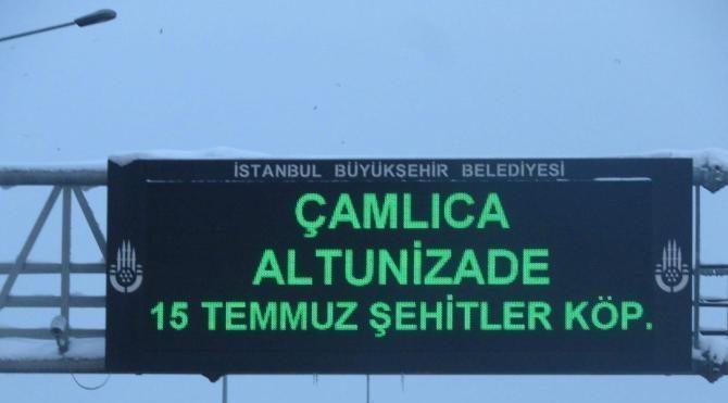 İstanbul'da yollar boş