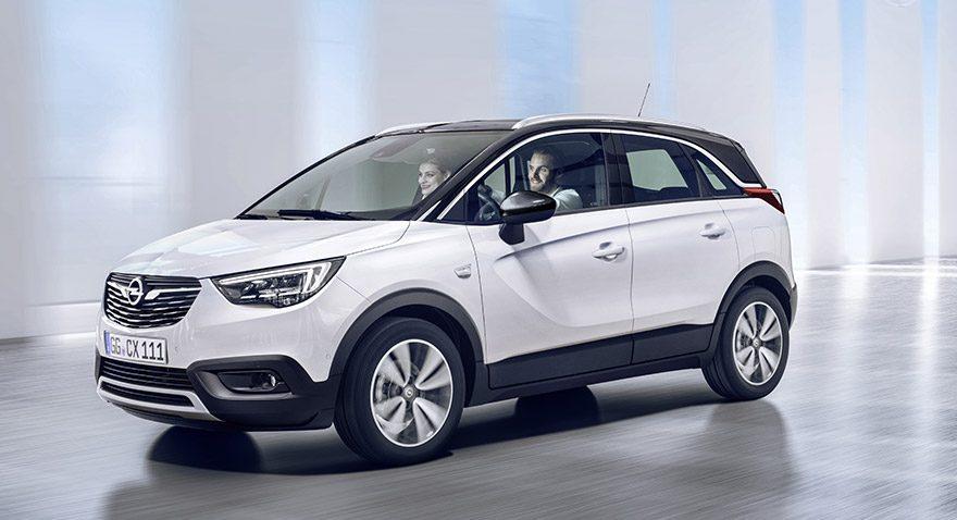 Yeni Opel Crossland X