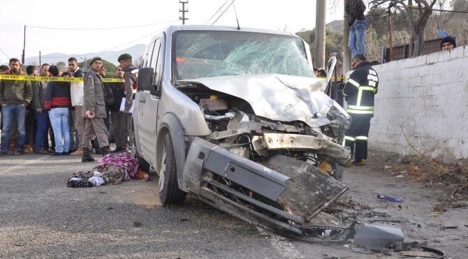 Aydın'da zincirleme kaza: 4 ölü, 3 yaralı