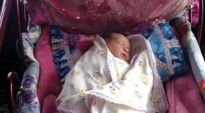 Şehit polis Fethi Sekin'in adı yeni doğan bebeğe verildi