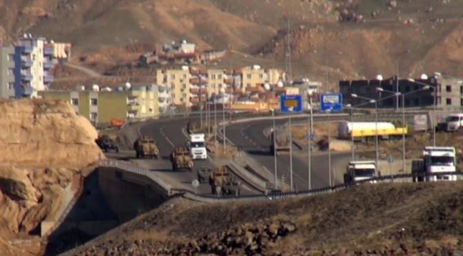 Şırnak'ta operasyon ve askeri hareketlilik sürüyor