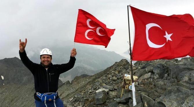 Eski başkan şehitler için Erciyes'e çıkacak