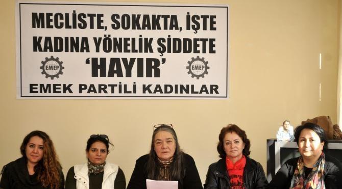 CHP HDP ve EMEP'li kadınlardan Enç'e tepki