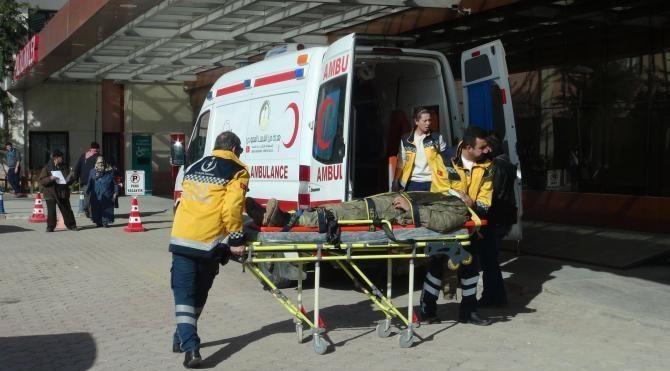 Fırat Kalkanı'nda yaralanan 1 Türk ve 13 ÖSO askeri Kilis'e