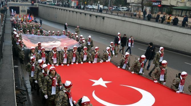 Sarıkamış şehitleri Kayseri'de anıldı