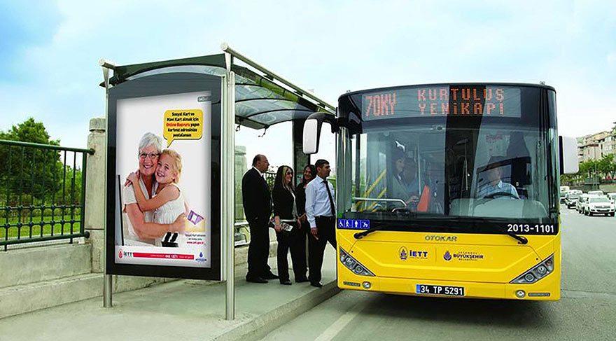 Otobüs durakları özelleştirilecek