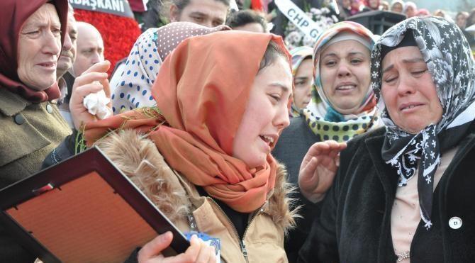 Şehit polis Miraç Kadir Özcan'ın cenazesi Trabzon'da 2