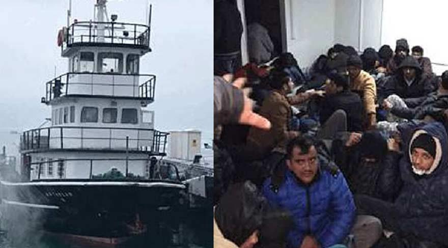 İstanbul'da kaçak göçmen operasyonu!