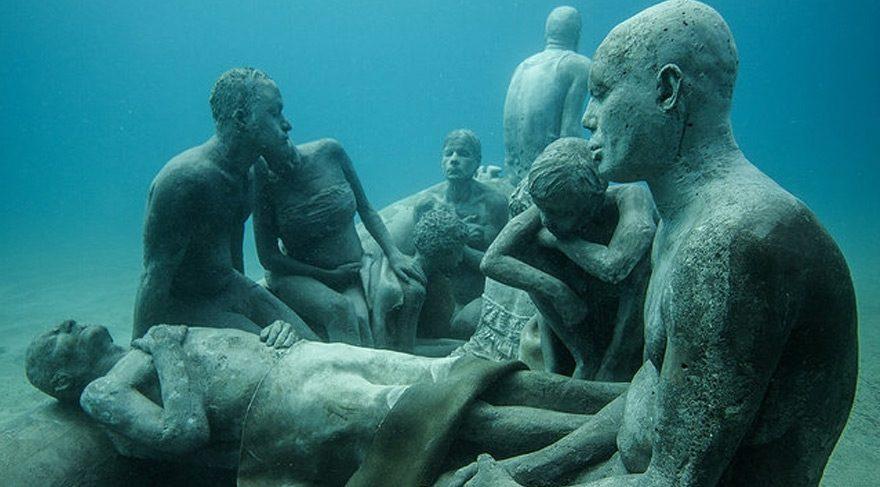 Avrupa nın ilk su altı heykel müzesi