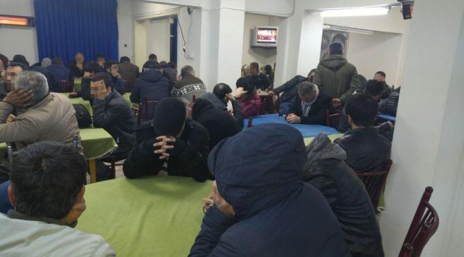 Adana'da kumar operasyonu