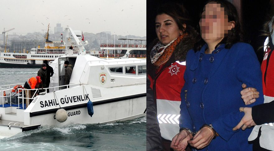 Bebeğini denize atan anne ve sevgilisine tutuklama talebi...