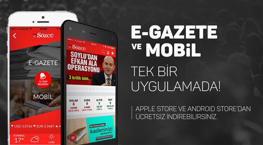 SÖZCÜ Android/iOS Uygulamasını İndir