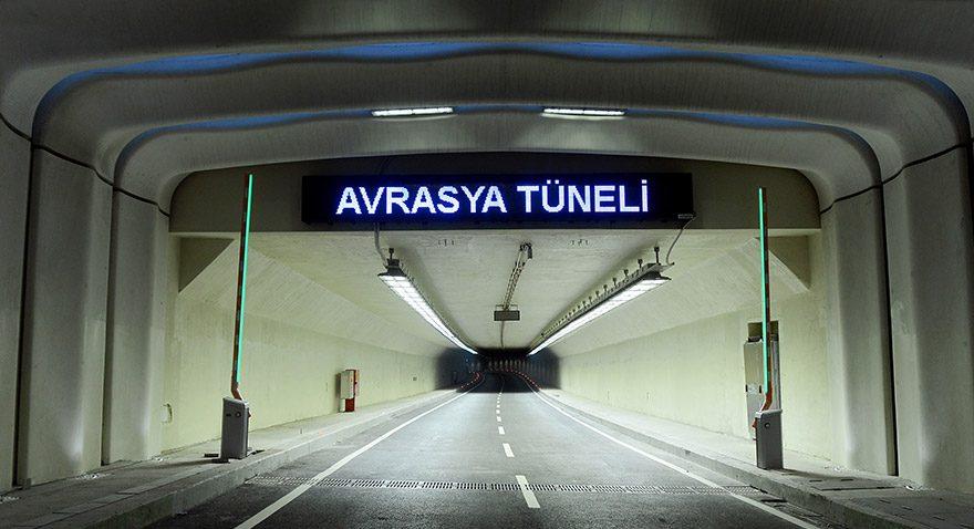 Avrasya Tüneli'ne dolar enflasyonu zammı gelecek