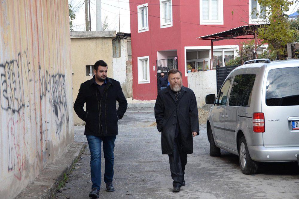 FOTO:DHA - CHP'li Aytuğ Atıcı iddialarla ilgili bilgi almaya çalıştı.