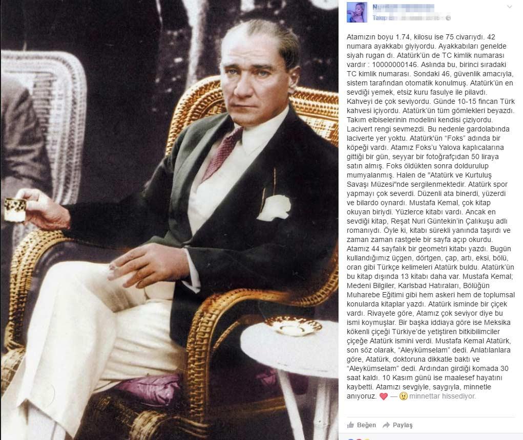 Atatürk'ün kısaca hayatı ( Özeti)