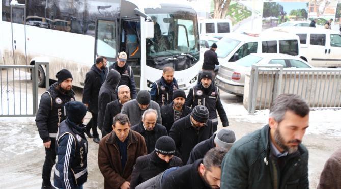 Kırıkkale'de FETÖ operasyonunda 15 kişi tutuklandı