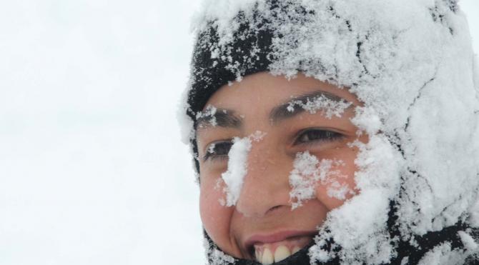 Sivaslıların kar sevinci