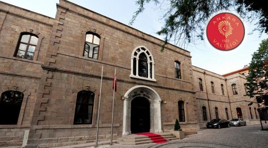 Ankara'da 'yeni anayasa' yasağı