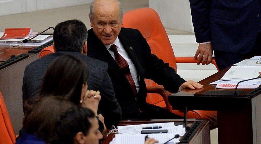 Bahçeli HDP lilerle sohbet etti