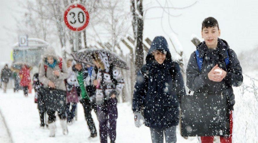 Son dakika haberi… İstanbul'da okullara kar tatili… Bugün okullar tatil edildi