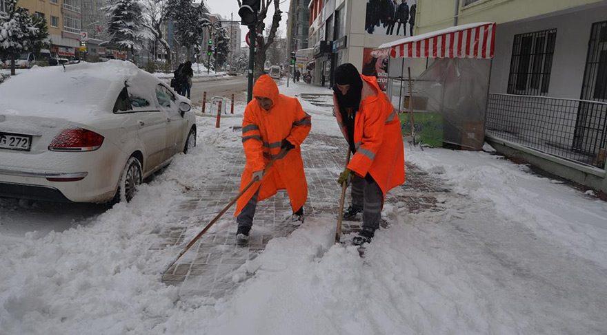 Soğuk havalarda dışarıda çalışanlar dikkat!