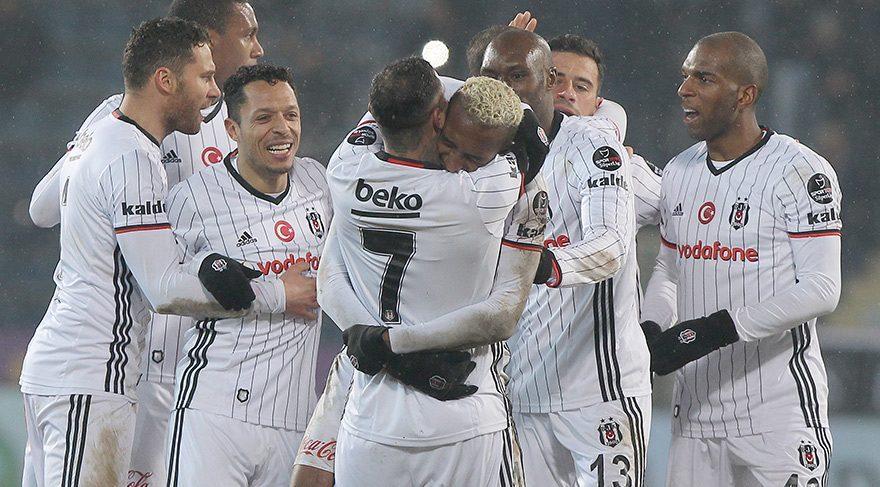 Osmanlıspor Beşiktaş maç özeti ve goller izle Beşiktaş 3 puanla