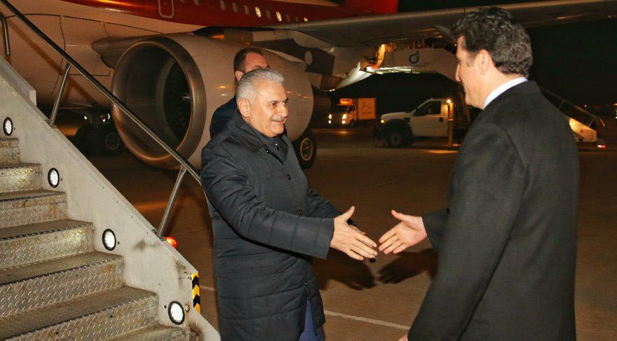 Başbakan Binali Yıldırım Kuzey Irak'ta