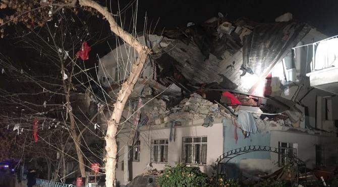 Ankara'da doğalgaz patlaması 3 yaralı 2 Yeniden
