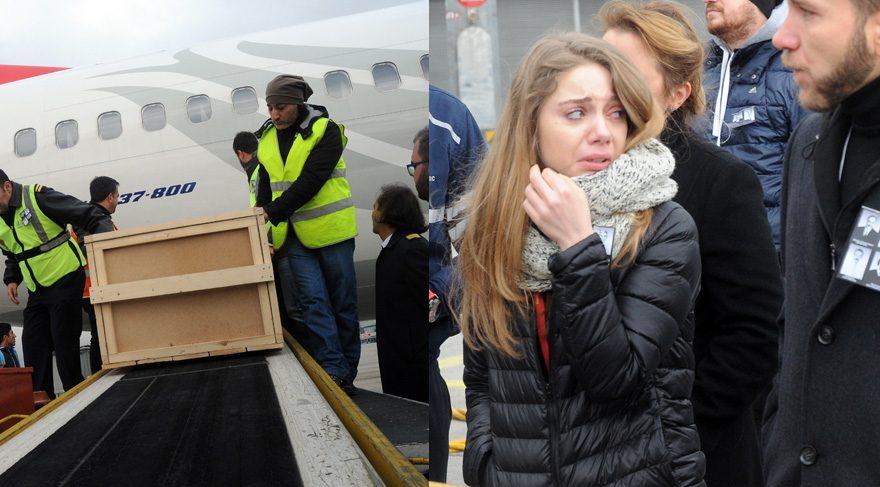 Kırgızistan daki uçak kazasında yaşamını yitirenlerin cenazesi Türkiye ye getirildi