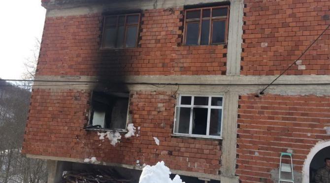 Ordu da evde çıkan yangında 1 kişi öldü