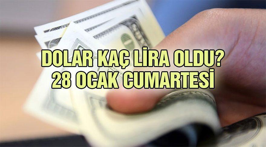 Dolar Kaç Lira Oldu 28 Ocak Artesi Tl Paritesi Ne