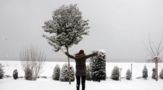 Zonguldak beyaza büründü