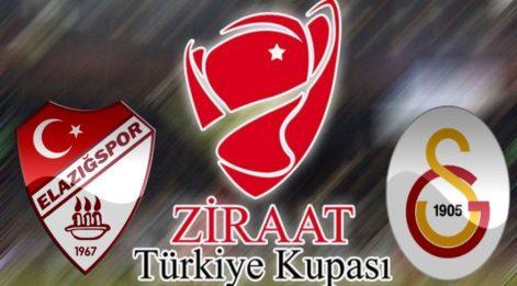 Elazığspor Galatasaray kupa maçı ne zaman, saat kaçta, hangi kanalda? (Canlı izle)