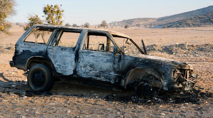 İşadamının oğlu kaçırıldı, cipi yanmış halde bulundu