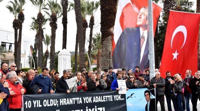 Hrant Dink Bodrum'da anıldı