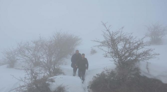 Muş'ta çığ altında kalan avcılar ölümden döndü