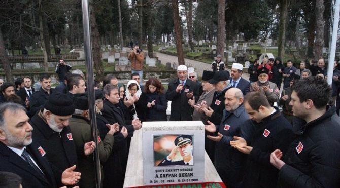 Şehit Emniyet Müdürü Gaffar Okkan mezarı başında anıldı