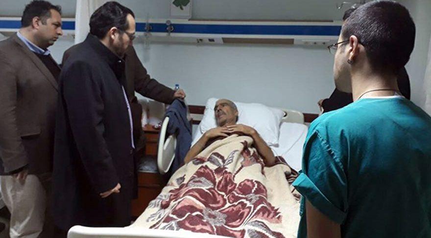 Kahraman polis Fethi Seki nin babası acı haberi hasta yatağında
