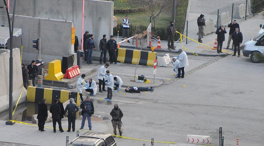 Son dakika haberi Gaziantep te emniyetin önünde öldürülen teröristin babası